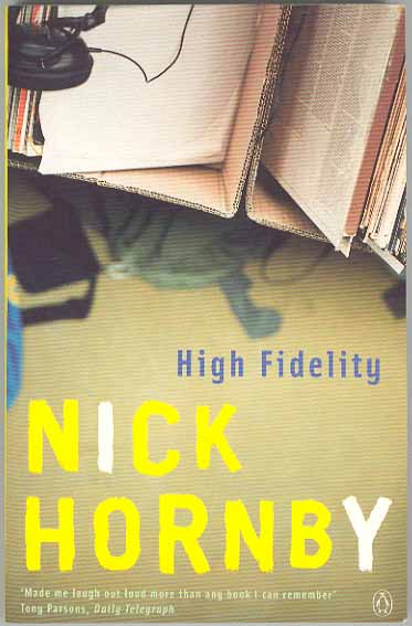 September's Book: High Fidelity by Nick Hornby
