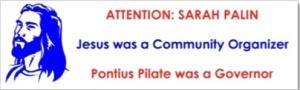 Jesus was community organizer