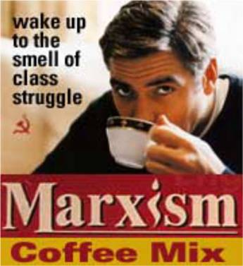 Wake up to the smell of class struggle...