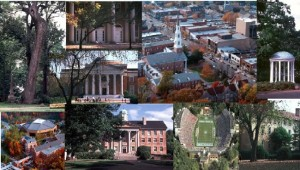 Collage of UNC Chapel Hill