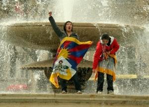 london tibet protest