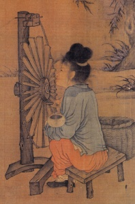 Wang_Juzheng's_Spinning_Wheel,_Close_Up_2
