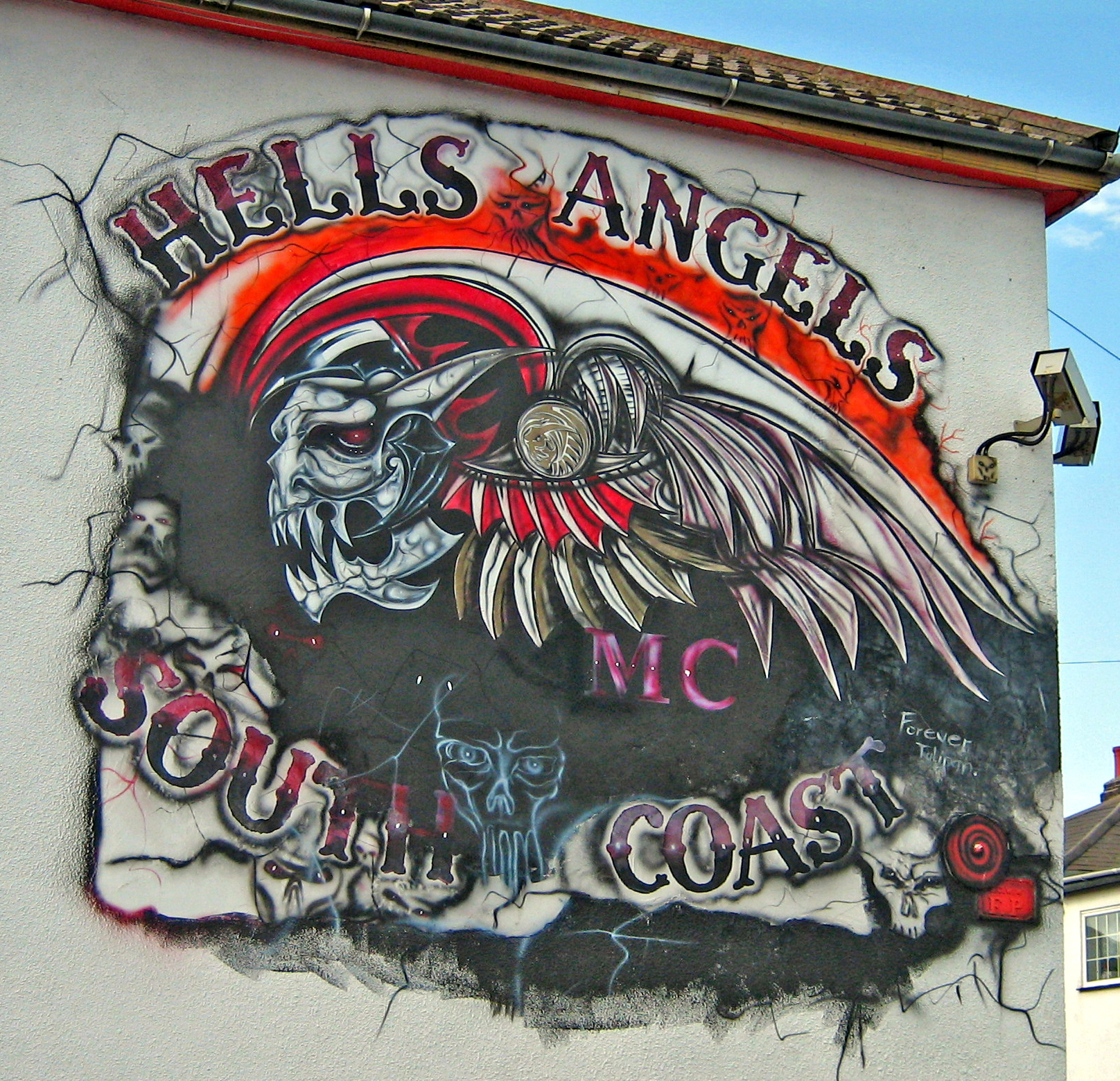 1000 images about gangs on pinterest aryan brotherhood for 18th street gang mural