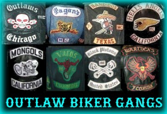 Outlaw Motorcycle Club Patches