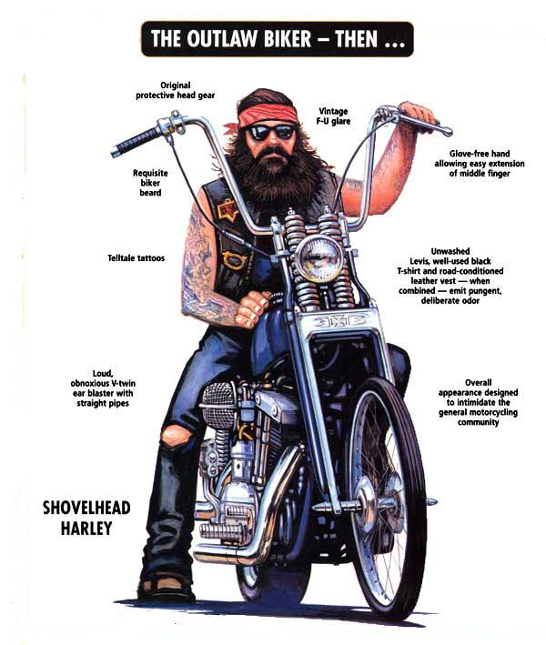 Outlaw Biker Patches